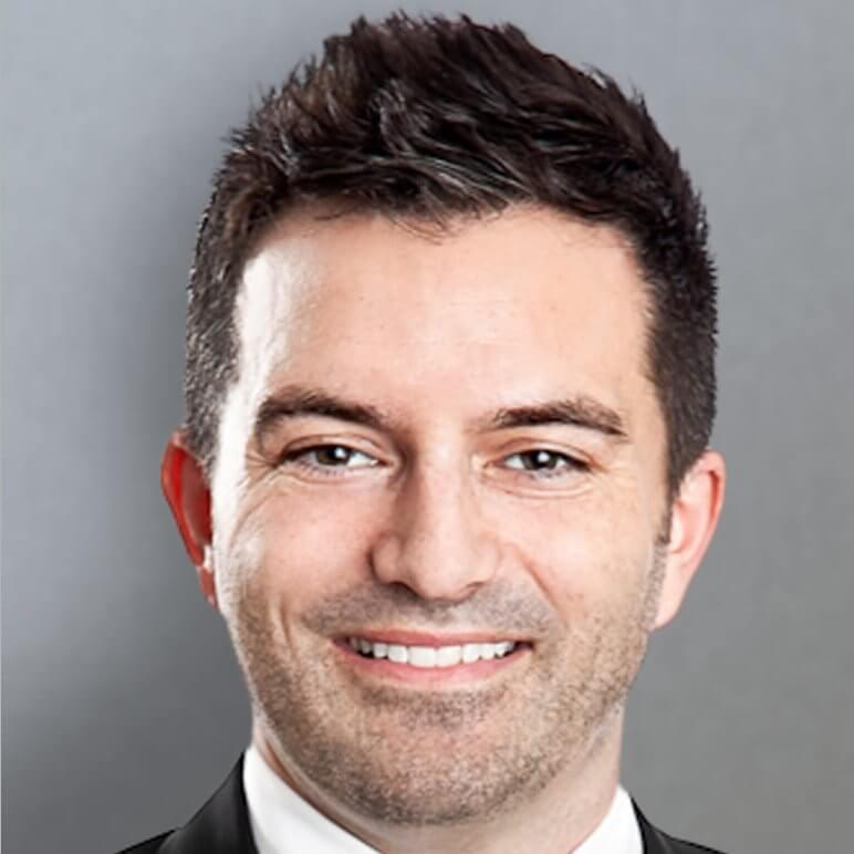 Photo de Brad Checknita, Directeur des ventes, Région de l'Ouest du Canada.